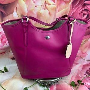 💖✨🌸 LRG Peyton Pink COACH Tote Handbag 🌸✨💖